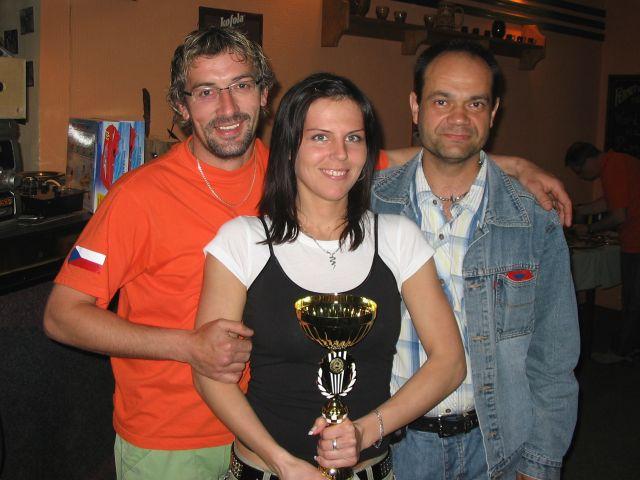 9118043aaf2 11.5.2008 Až nyní se dostávám k vystavení několika fotek z vyhlášení  vítězů  první tři týmy z první ligy v pořadí 4 Mušketýři